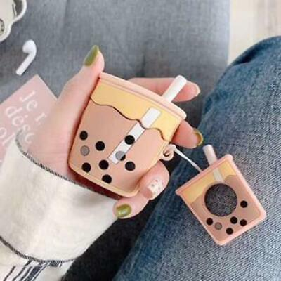 $ CDN5.99 • Buy AirPods Silicone Rubber 3D Cartoon Case Cover BUBBLE TEA