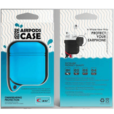 $ CDN5.99 • Buy AirPods Silicone Case Cover BLUE