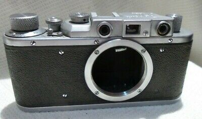 $64.99 • Buy ZORKI 1 (I) Vintage Russian Leica M39 Mount Camera BODY Only 5228