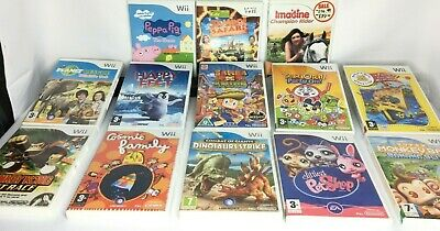 Wii - Kids Games - Peppa Pig/Monkeyball/Build A Bear Etc...... **Multi Listing** • 12.99£