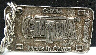 $ CDN21.57 • Buy WWF Made In Chyna Ninth Wonder Of The World 1999 Metal Keychain Vintage Rare
