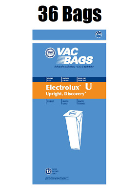 $23.84 • Buy (36) Vacuum Bags For Aerus Electrolux Style U Replacement 4 Ply ProTeam Upright