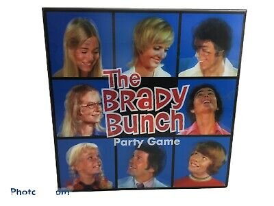 The Brady Bunch Party Game 3D Box Classic TV Jan Bobby Marcia Barry Williams NEW • 8.94£