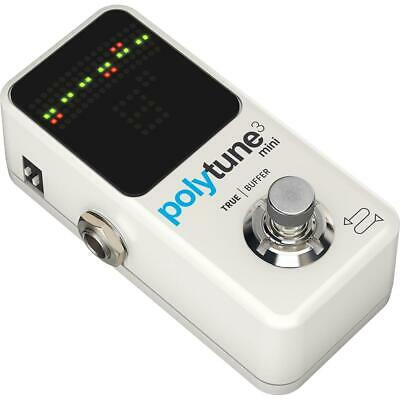 $ CDN132.01 • Buy TC Electronic Polytune 3 Mini Polyphonic Tuner Pedal For Electric Guitar  Bass