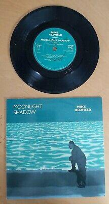 Mike Oldfield-moonlight Shadow/rite Of Man-uk 7  45 Issue On Virgin Records-1983 • 3£