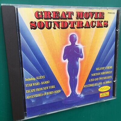 GREATEST MOVIE SOUNDTRACKS Ltd Edition CD Robin Hood Kings Row Rambo Aliens OSTs • 25£