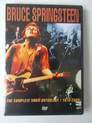 £9.99 • Buy BRUCE SPRINGSTEEN : The Complete Video Anthology / 1978-2000 ( Twin DVD Set )