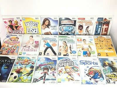Wii - Fit Board Compatible Games My Fitness Coach/Sports/Ski Etc *Choose A Game* • 9.95£