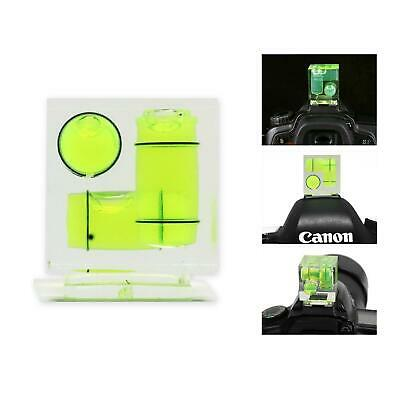 £4.99 • Buy Camera Spirit Level 3 Axis 3D Triple Bubble Hot Shoe Flash Photography DSLR SLR