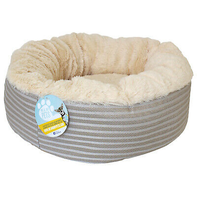 £14.99 • Buy Me & My Super Soft Donut Pet Bed Cat/kitten/dog/puppy/warm/snug/cosy/round/comfy