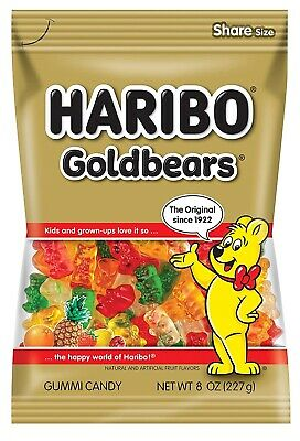 $15.99 • Buy Haribo Gold-Bears 8 Oz Gummi Candy (LOT OF 3)