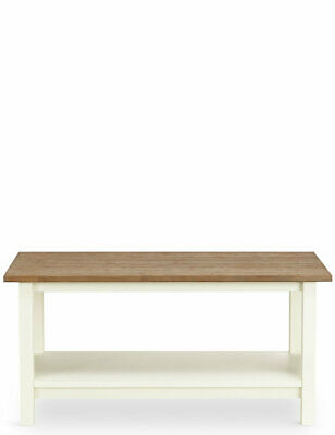 M&S LOFT Storage Bench Hallway Furniture Small Space Self Assembly Bench Cream • 99£