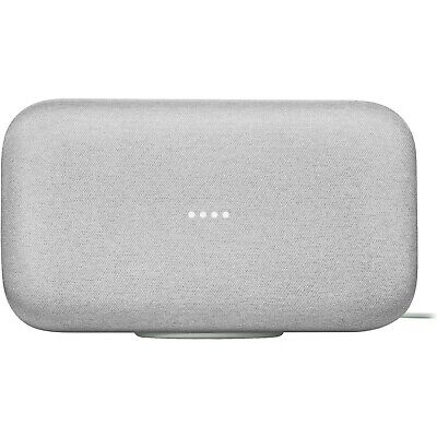 AU299 • Buy Google Home Max Smart Speaker With Google Assistant Chalk 2xwoofer New