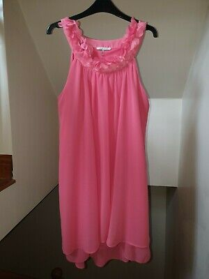 £10 • Buy River Island Coral Dress Size 14