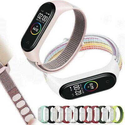 $1.93 • Buy Fit For Xiaomi Mi Band 4 3 Replacement Nylon Strap Wristband Wrist Fiber Band US