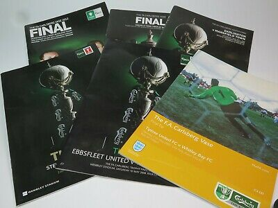 FINAL TIE FOOTBALL PROGRAMME FA Trophy FA Vase 2000s CHOOSE FROM SELECTION • 2.99£