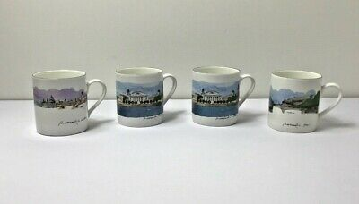 Royal Academy Of London Cities On Water Bone China Mug Bundle X4 • 19.99£