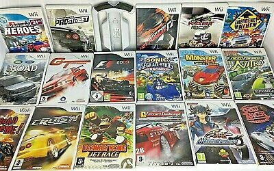 Wii - Driving Games - Need For Speed/F1 Etc Some With Wheels *Choose A Game* • 8.95£