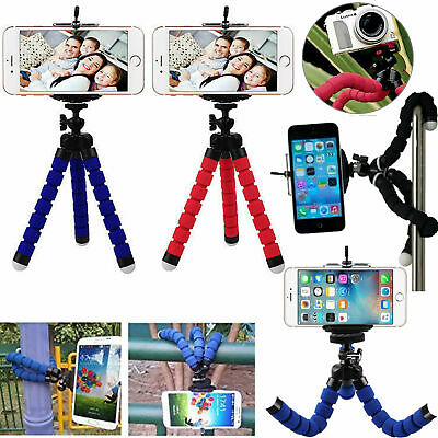 Universal Mini Mobile Phone Tripod Stand Grip Holder Mount For Camera Phones -UK • 6.98£