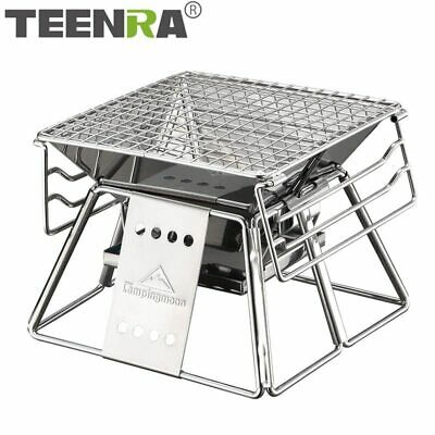 $ CDN111.67 • Buy BBQ Grill Portable Stainless Steel  Outdoor Camping Picnic Tool