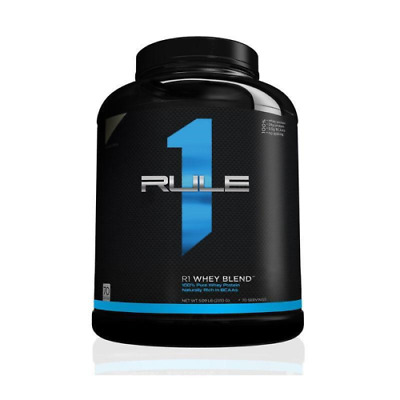 AU47.95 • Buy Rule 1 R1 Whey Blend - 100% Pure WPI WPC Protein Powder Isolate Concentrate BCAA
