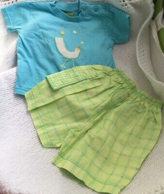 SPANISH BOYS OUTFIT Maresse 6 Months New No Labels • 3£