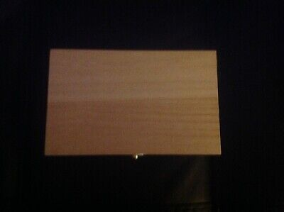 $4 • Buy Wooden Box With Clasps Ready To Paint