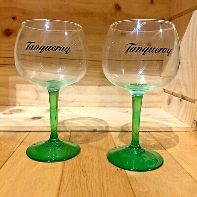 2x Brand New Large Tanqueray Gin Ballon Bowl Glasses. • 9£