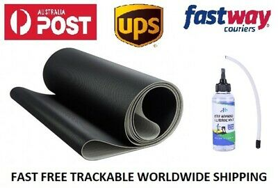 AU547.32 • Buy Treadmill Belts Worldwide NordicTrack T17.2 Treadmill Belt + FREE Silicone Oil