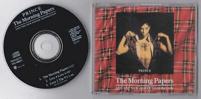 Prince - The Morning Papers , Cd Single • 4.99£