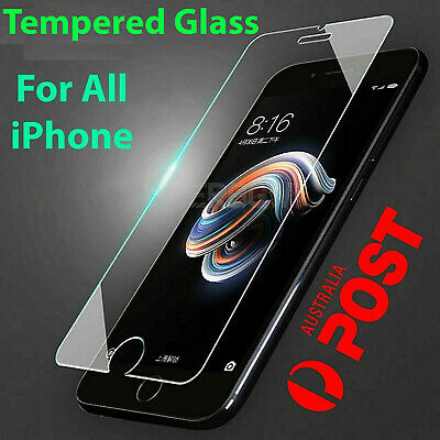 AU3.99 • Buy Tempered Glass Screen Protector IPhone 11 PRO Max XR X XS 7 6s 8 Plus SE 4 5 Rju