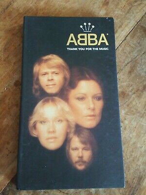 CD Box Collection Abba Limited Edition 4 Cds And Book See Pics  • 19.99£