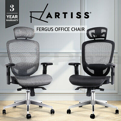 AU199.95 • Buy Artiss Office Chair Gaming Chair Computer Chairs Mesh Net Seating Black Grey