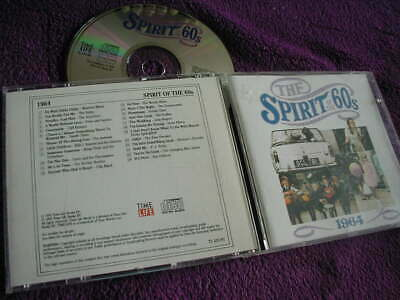 THE SPIRIT OF THE 60s ,1964, VARIOUS ARTISTS ,CD TIME LIFE • 7.99£