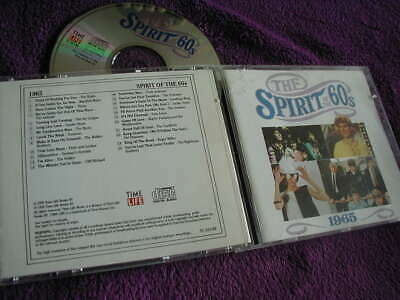 THE SPIRIT OF THE 60s ,1965, VARIOUS ARTISTS ,CD TIME LIFE • 8.99£