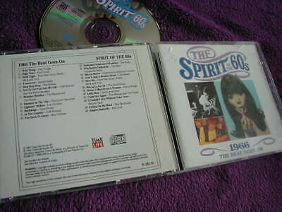 THE SPIRIT OF THE 60s ,1966 THE BEAT GOES ON, VARIOUS ARTISTS ,CD TIME LIFE • 11.99£