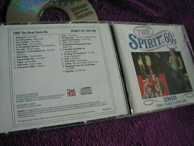 THE SPIRIT OF THE 60s ,1969 THE BEAT GOES ON, VARIOUS ARTISTS ,CD TIME LIFE • 11.99£