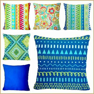 Boho Home Decor Cushion COVER Yellow Red Blue Green Premium Pillow Case 17x17  • 6.82£