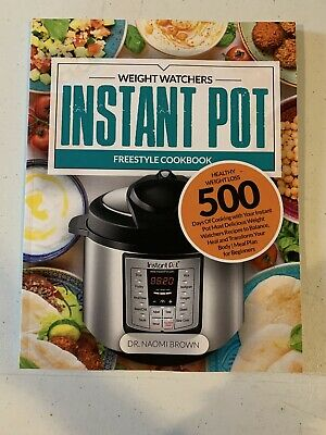 $15 • Buy Weight Watchers Instant Pot Freestyle Cookbook...new