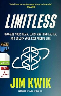 $3.95 • Buy Limitless: Upgrade Your Brain, Learn Anything Faste By Jim Kwik [E-VERSION]