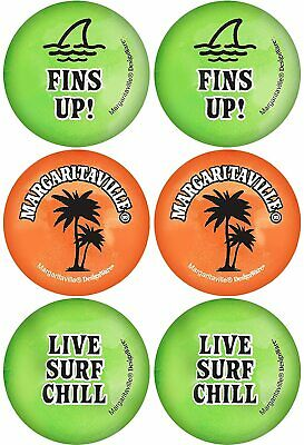 Margaritaville Summer Luau Cocktail Beach Theme Party Favor Ping Pong Balls • 5.14£