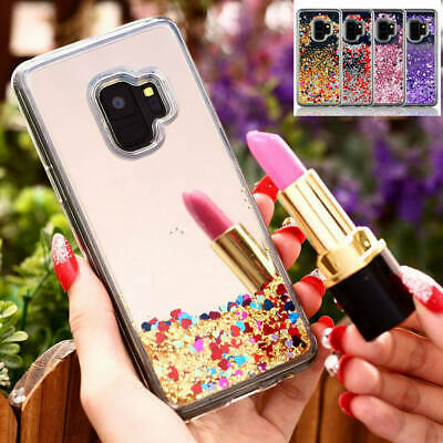 $ CDN13.39 • Buy For Samsung Galaxy S9 + Bling Glitter Sparkle Liquid Quicksand Mirror Case Cover