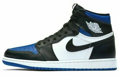 $289 • Buy Air Jordan 1 Royal Toe Retro High OG Game Royal Blue 555088-041