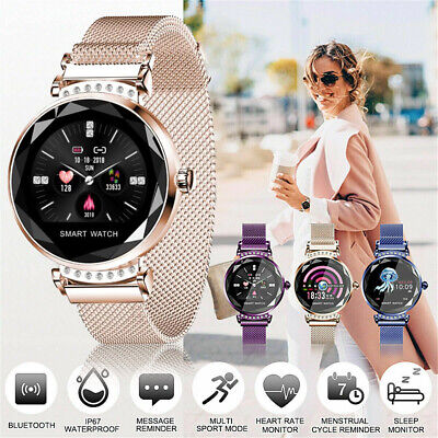 View Details Women Smart Watch Bracelet Heart Rate Fitness Activity Tracker For IOS Android • 28.89£