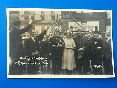 Herne Bay, 1926: Bobby's Wedding, R.c. Home - Nice Real Photo Postcard! • 7.99£