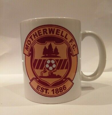 Brand New Motherwell FC Football Bespoke Cloud Mug/cup Ideal Gift, Boxed • 6.99£