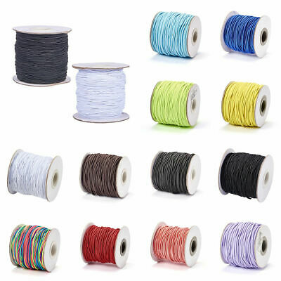 $ CDN3.78 • Buy Lady Luck3: 1mm  Round Elastic Cord, With Nylon Outside And Rubber Inside.