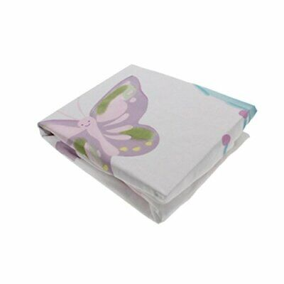 Heidi Klum Truly Scrumptious BUTTERFLY WONDERLAND Fitted Crib Sheet - Cot Bed • 20£