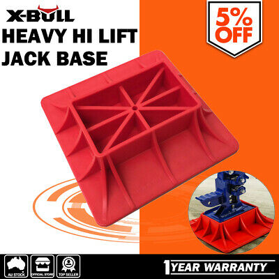 AU32 • Buy X-BULL 3.5T Hi Lift Jack Base Plate Sand Mud Snow Grass Recovery 4WD Offroad 4x4