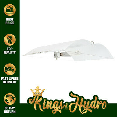 Adjust-A-Wing Defender Grow Light Reflector - All Sizes - White For Best Reflect • 69.95£